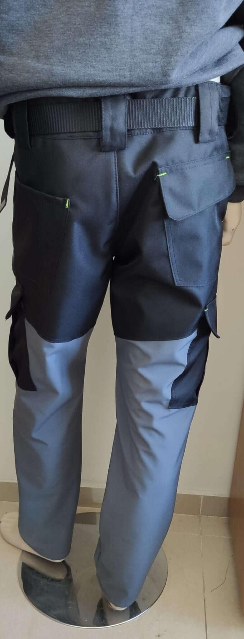 spodnie z softshell