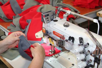 produkcja 1 Produkcja odzieży roboczej